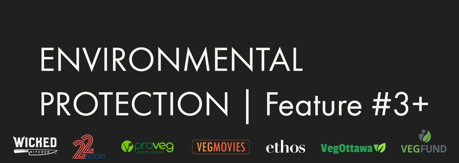 ENVIRONMENTAL PROTECTION feature #3+